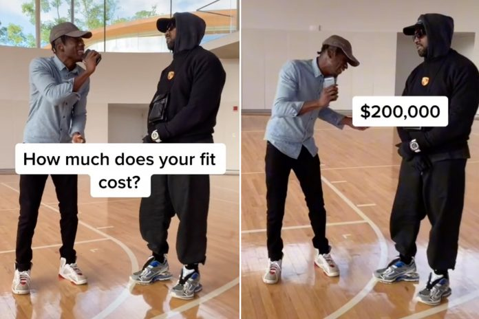 Kanye West Says He Doesn't Know Cost Of Outfit, Just His $200K Watch - SurgeZirc FR